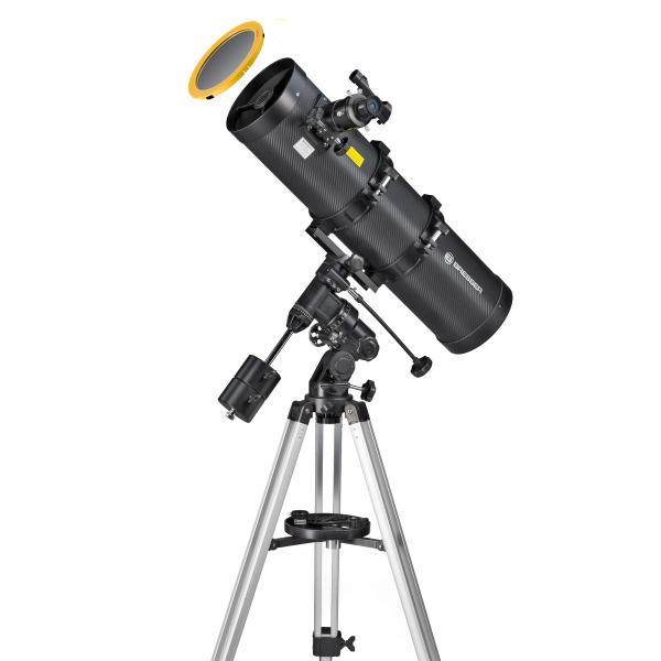 купить Телескоп BRESSER Pollux 150/750 EQ3 Solar (carbon)