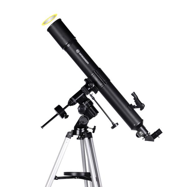 купить Телескоп BRESSER Quasar 80/900 EQ (carbon)