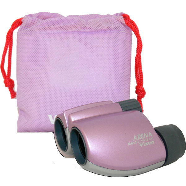 купить Бинокль VIXEN ARENA 8x21 CF (розовый)